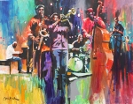 Layers by Charly Palmer - artwork for 2013 Atlanta Jazz Festival - low-res
