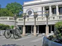 Atlanta Cyclorama & Civil War Museum Entrance