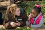 CEP 2012 - Atlanta Botanical Garden staff with APS student - photo by John Ramspott