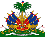 Haiti - Coat of Arms on white background
