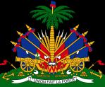 Haiti - Coat of Arms on white background