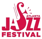 Atlanta Jazz Festival - red logo