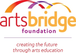 ArtsBridge logo with tagline - DAYBOOK